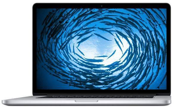 "Ноутбук 15.4"" Apple MacBook Pro Z0RF000E9 серебристый - фото 1"