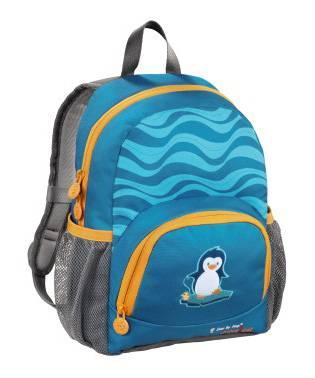 Рюкзак детский Step By Step Junior Dressy little penguin голубой / серый