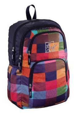 Рюкзак All Out Kilkenny Sunshine Check черный/розовый/голубой/зеленый/синий (00129482)