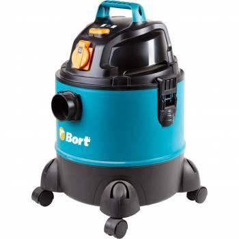 Строительный пылесос Bort BSS-1220-Pro синий (98291797)