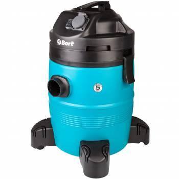 Строительный пылесос Bort BSS-1335-Pro синий (98297072)