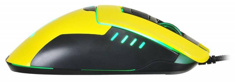 Мышь Oklick 865G Snake черный/желтый (GM-26 YELLOW) - фото 6
