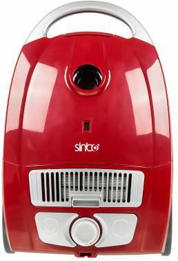 Пылесос Sinbo SVC 3478ZR красный / черный