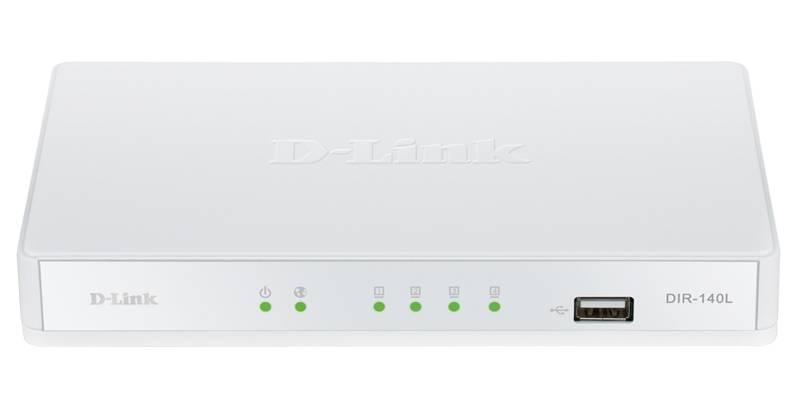 Маршрутизатор D-Link DIR-140L/RU/A1A белый - фото 1