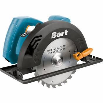 Циркулярная пила (дисковая) Bort BHK-185U (93727222)