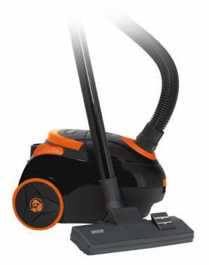 Пылесос Mystery MVC-1122 черный / оранжевый