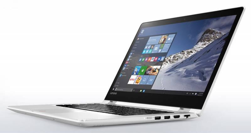 "Ноутбук Lenovo IdeaPad YOGA 510-14ISK  14"" 1920x1080 Intel Core i7 6500U 2.5ГГц 8192МБ DDR4 1600МГц 1000Гб AMD Radeon R5 M430 2048МБ Windows 10 BT - фото 2"