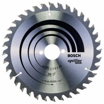 Пильный диск по дереву Bosch 2608640616