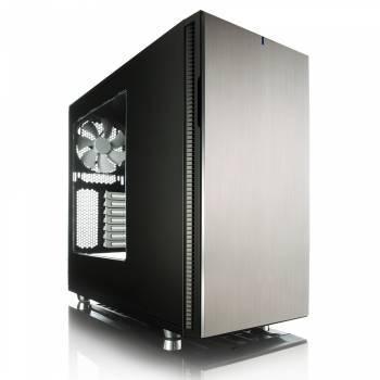 Корпус ATX Fractal Design Define R5 Titanium Window черный/серебристый (FD-CA-DEF-R5-TI-W)