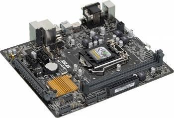 Материнская плата Asus H110M-R/C/SI, гнездо процессора LGA 1151, чипсет Intel H110, память 2xDDR4, форм-фактор mATX, звук AC`97 8ch(7.1), слоты 1xPCI-E 3.0 x16, 2xPCI-E x1, разъемы GbLAN+VGA+DVI+HDMI, White Box