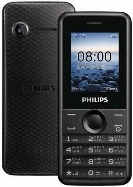 Мобильный телефон Philips Xenium E103 черный