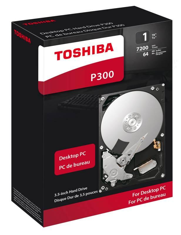 Жесткий диск 1Tb Toshiba P300 HDWD110EZSTA SATA-III - фото 1