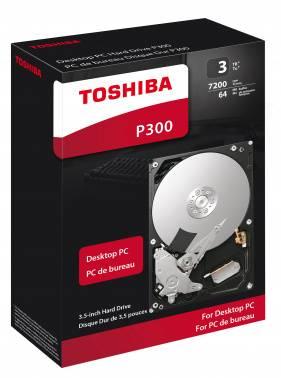 Жесткий диск 3Tb Toshiba P300 HDWD130EZSTA SATA-III