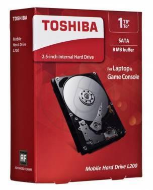 ������� ���� 1Tb Toshiba L200 HDWJ110EZSTA SATA-II