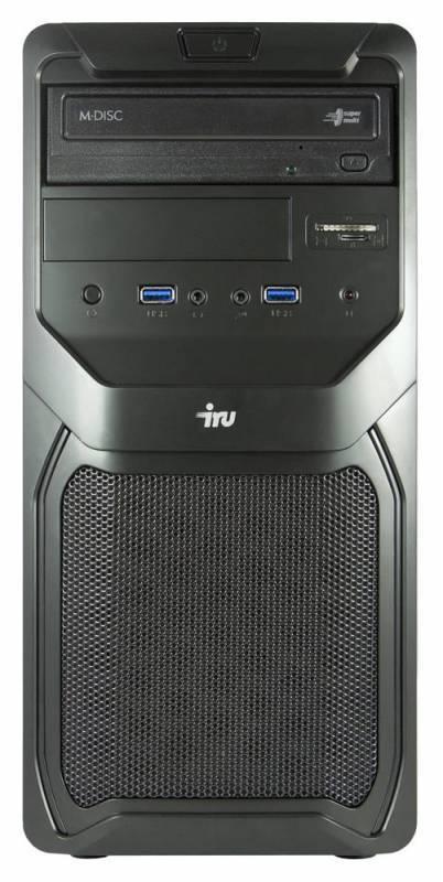 Системный блок IRU Office 311 черный - фото 2