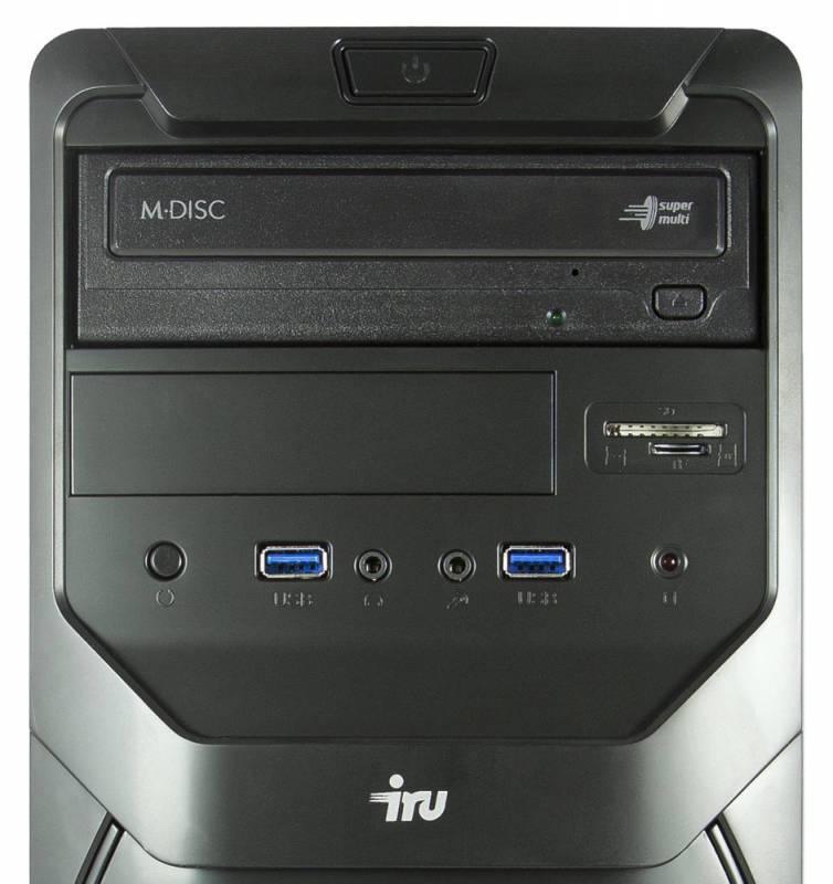 Системный блок IRU Office 311 черный - фото 3
