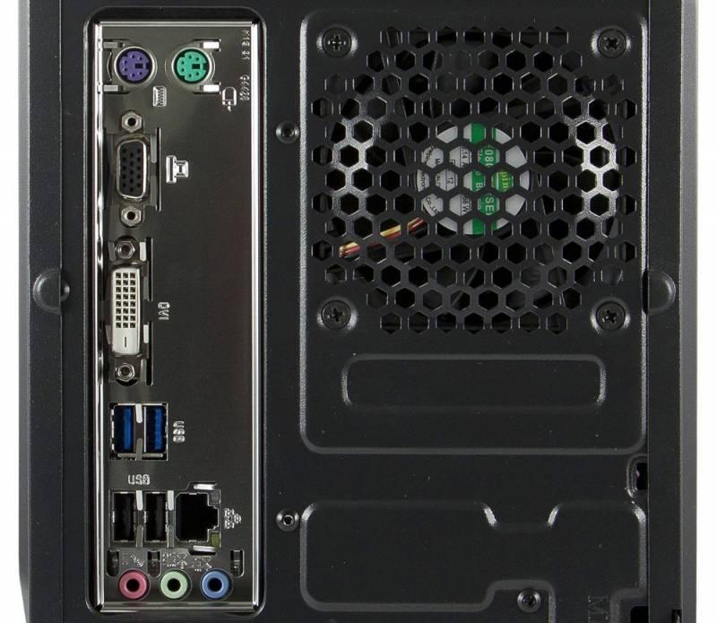 Системный блок IRU Office 311 черный - фото 5