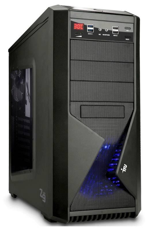 Компьютер IRU WS 310 черный - фото 1