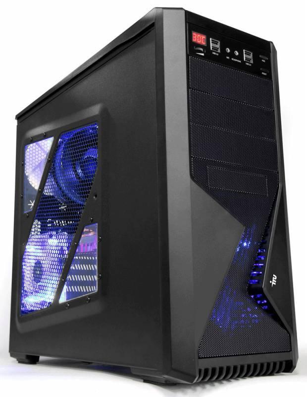 Компьютер IRU WS 310 черный - фото 2