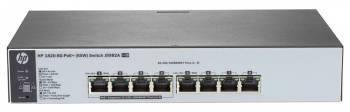 Коммутатор управляемый HPE 1820-8G-PoE+ (J9982A)