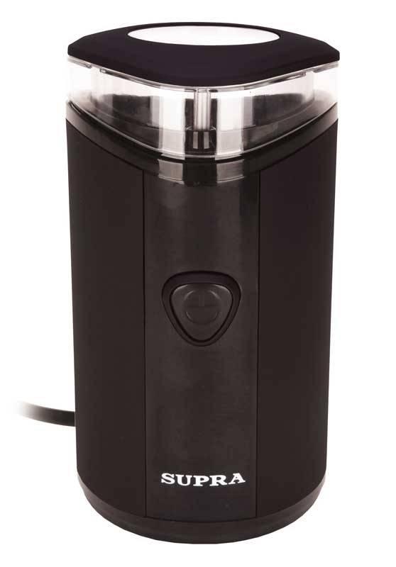 Кофемолка Supra CGS-310 черный - фото 1
