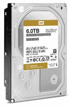 Жесткий диск 6Tb WD Gold WD6002FRYZ SATA-III