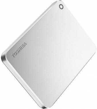 Внешний жесткий диск 1Tb Toshiba HDTW110EC3AA Canvio Premium серебристый USB 3.0