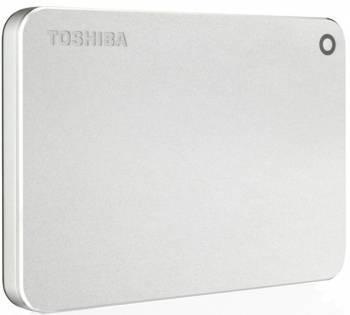Внешний жесткий диск 3Tb Toshiba HDTW130ECMCA Canvio Premium for Mac серебристый USB 3.0