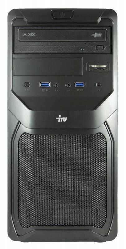 Системный блок IRU Office 110 черный - фото 2