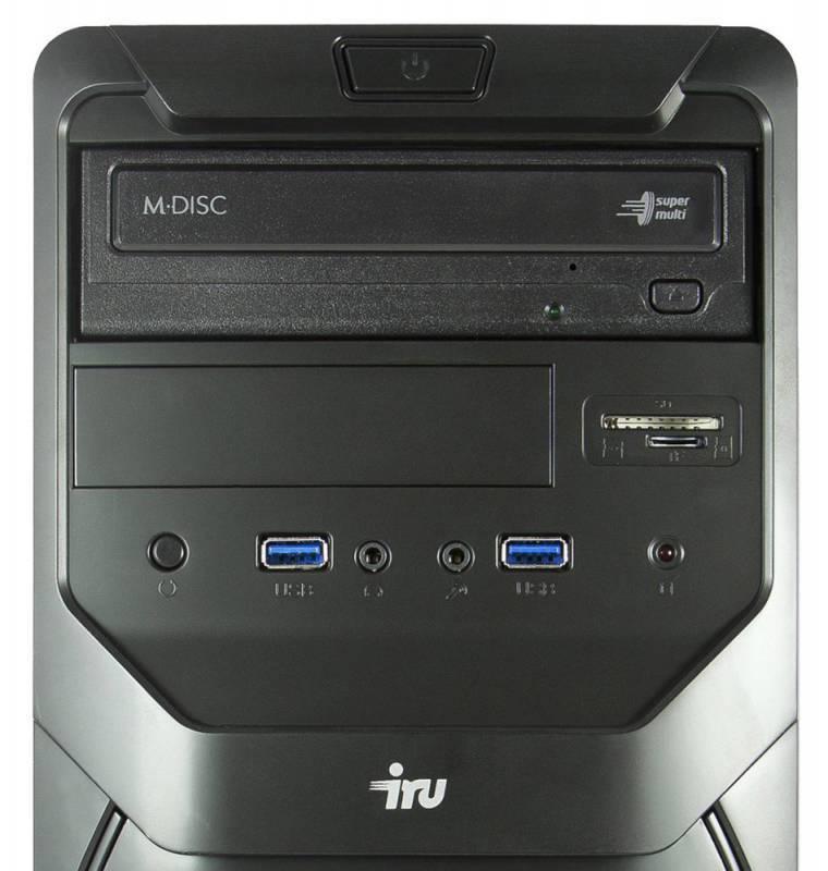 Системный блок IRU Office 110 черный - фото 5