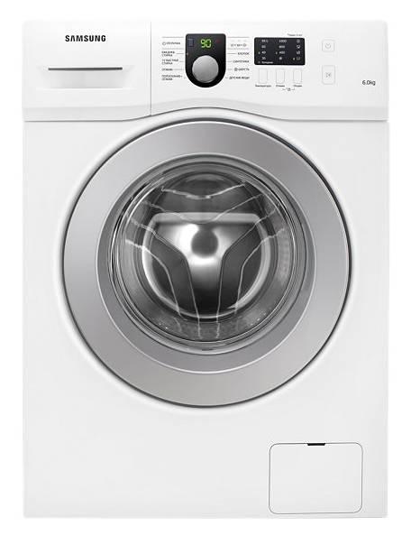 Стиральная машина Samsung WF60F1R1E2W белый - фото 1