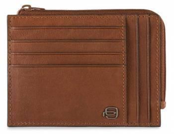 Чехол для кредитных карт Piquadro Black Square PU1243B3 / CU светло-коричневый натур.кожа
