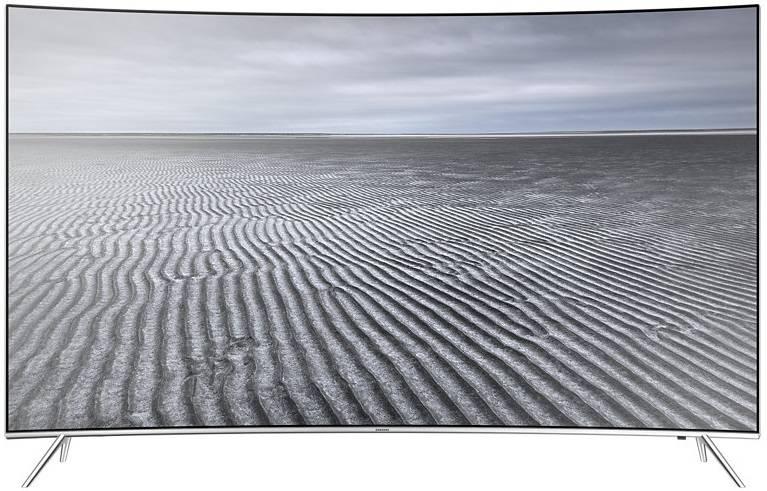 "Телевизор LED 65"" Samsung UE65KS7500UXRU серебристый - фото 1"