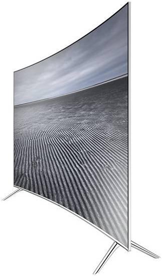 "Телевизор LED 65"" Samsung UE65KS7500UXRU серебристый - фото 5"