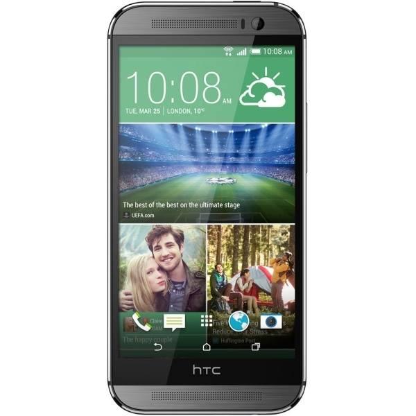 Смартфон HTC One M8s 16ГБ серый - фото 1