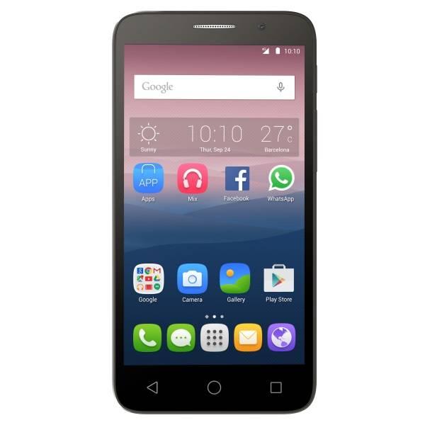 Смартфон Alcatel Pop 3 5065D 8ГБ серебристый/черный - фото 1