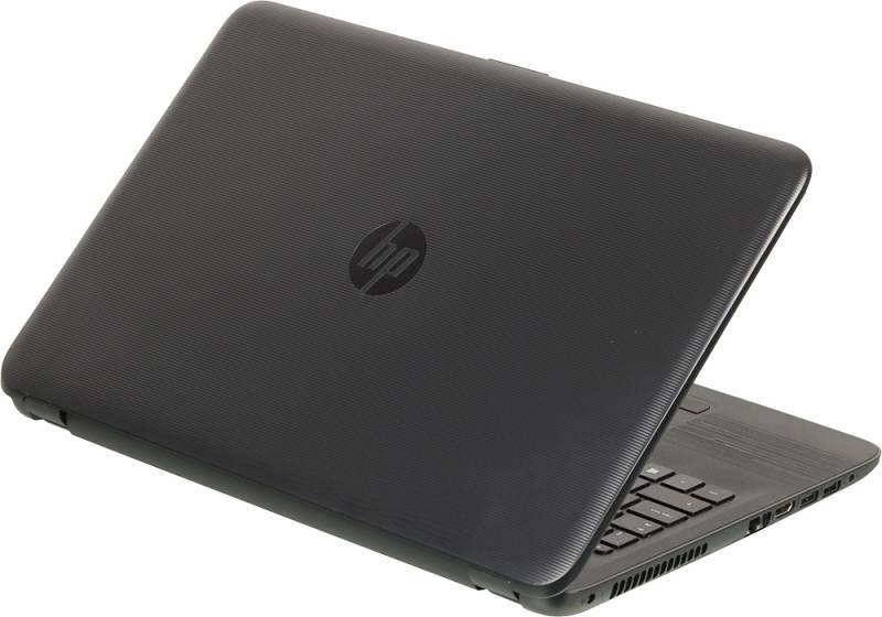 """Ноутбук 15.6"""" HP 15-ay075ur черный - фото 2"""