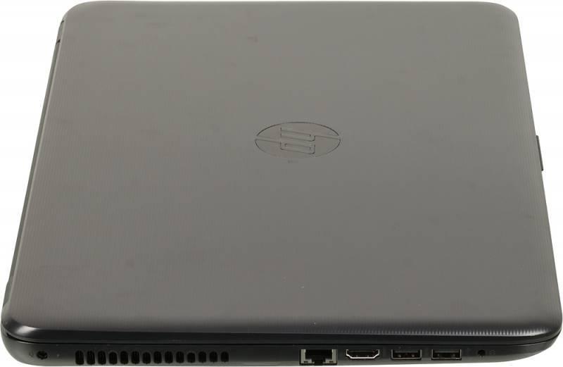"""Ноутбук 15.6"""" HP 15-ay075ur черный - фото 6"""