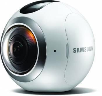 Камера Samsung Gear 360 SM-C200N белый (SM-C200NZWASER)