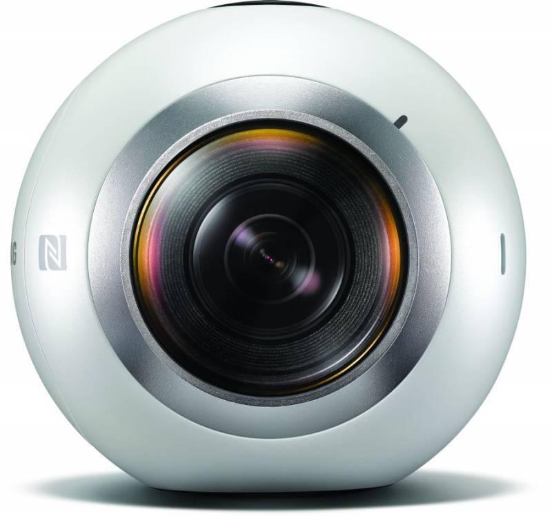 Камера Samsung Gear 360 SM-C200N белый (SM-C200NZWASER) - фото 4