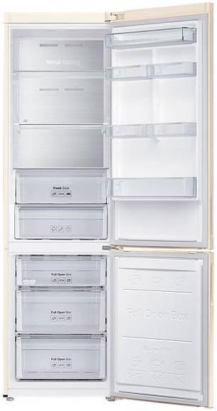 Холодильник Samsung RB37J5271EF бежевый - фото 2