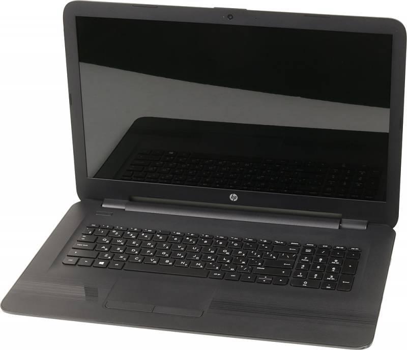 """Ноутбук 17.3"""" HP 17-y018ur черный - фото 1"""