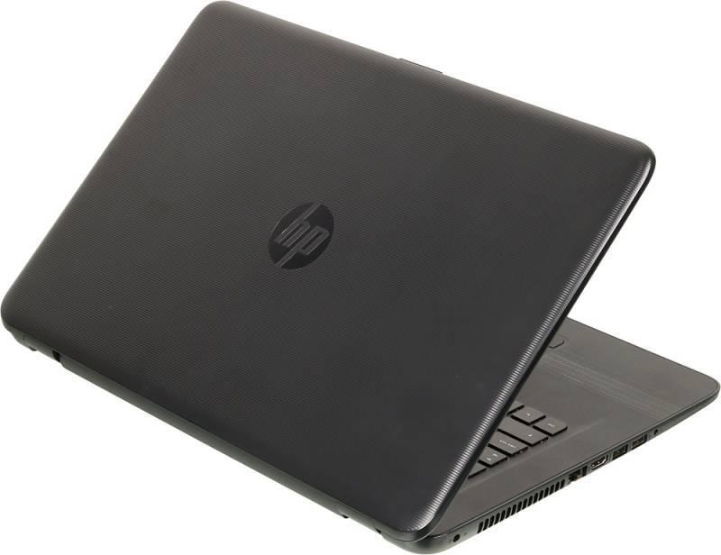 """Ноутбук 17.3"""" HP 17-y018ur черный - фото 2"""