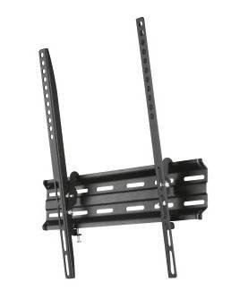 Кронштейн для телевизора Hama H-118105 черный, рекомендуемая диагональ 32-65, максимальная нагрузка 35кг, настенный, наклон
