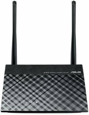 Беспроводной маршрутизатор Asus RT-N11P/RU черный, однодиапазонный, количество антенн: 2 внешние, несъемные, входной интерфейс 10/100BASE-TX