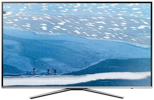 "Телевизор LED 40"" Samsung UE40KU6400UXRU серебристый - фото 1"