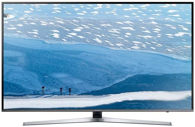 "Телевизор LED 40"" Samsung UE40KU6450UXRU серебристый - фото 1"