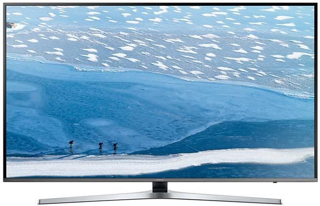 "Телевизор LED 49"" Samsung UE49KU6450UXRU серебристый - фото 1"