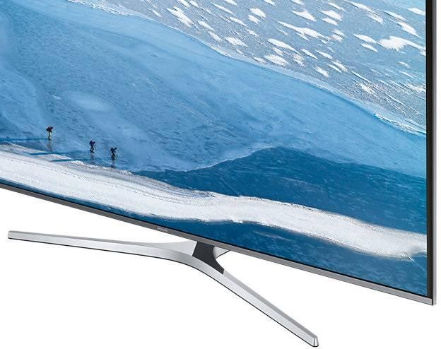 "Телевизор LED 49"" Samsung UE49KU6450UXRU серебристый - фото 5"