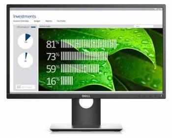 Монитор 23 Dell P2317H черный IPS LED 16:9 DVI матовая HAS Pivot 250cd 178гр/178гр 1920x1080 D-Sub DisplayPort FHD USB